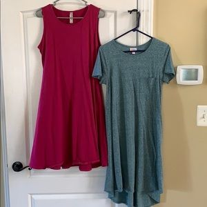Lot of 2 dresses Large